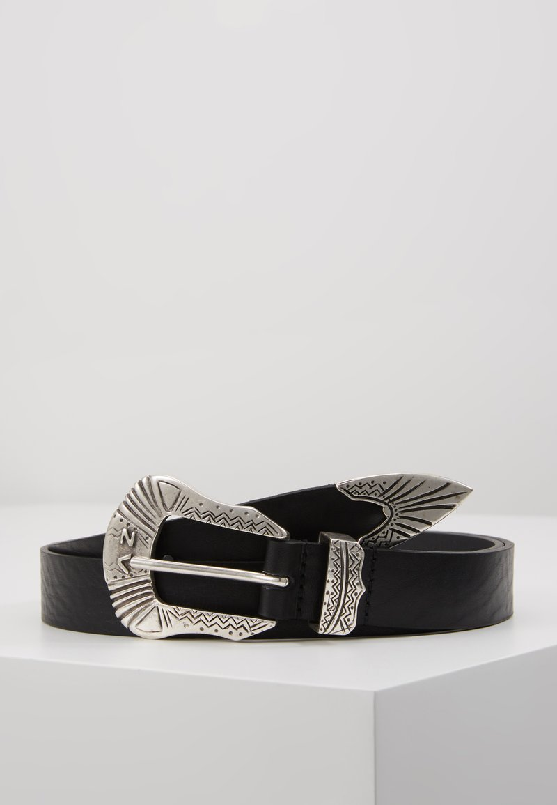 Zadig & Voltaire - ALTON SMOOTH  - Belte - noir