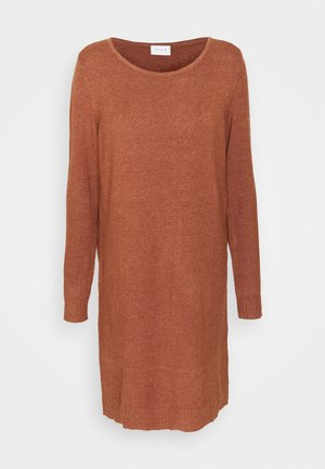 VIRIL DRESS - Jumper dress - tortoise shell melange