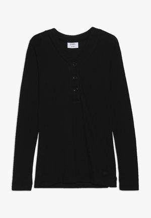 FENG - Pitkähihainen paita - black