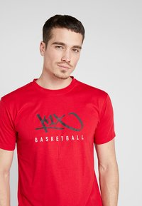 K1X - HARDWOOD  - Print T-shirt - major red - 4