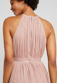 Anaya with love - DELICATE HALTER NECK WAISTBAND DRESS - Ballkjole - pearl blush - 6