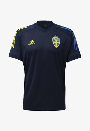SWEDEN SVFF TRAINING SHIRT - Camiseta estampada - blue