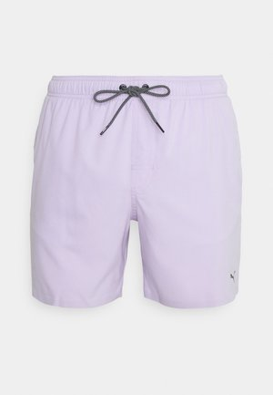 SWIM MEN MEDIUM LENGTH - Swimming shorts - purple