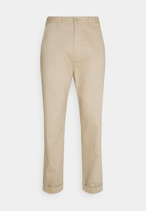DAREN - Trousers - service sand