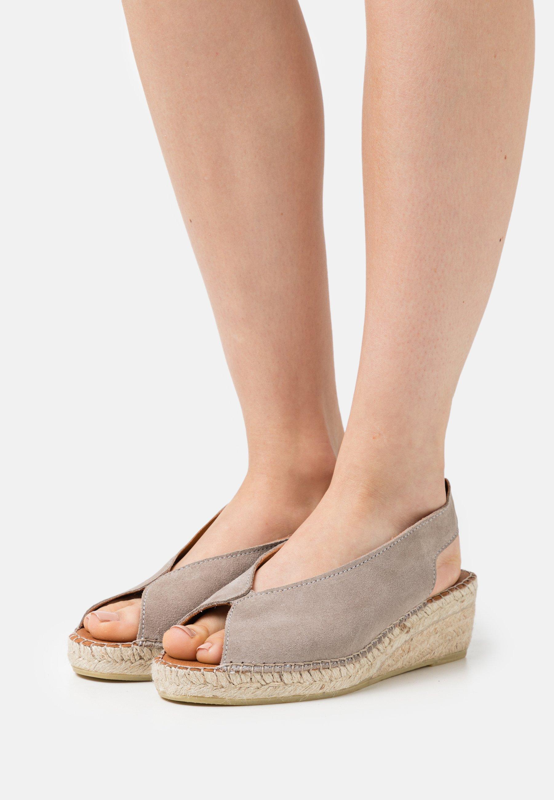 Women WILLOW - Platform sandals - taupe