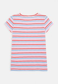 J.CREW - ISA TEE WITH HEART - Triko spotiskem - red orchid multi - 1
