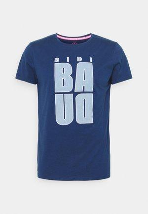 BONGANY LIFESTYLE TEE - Print T-shirt - dark blue
