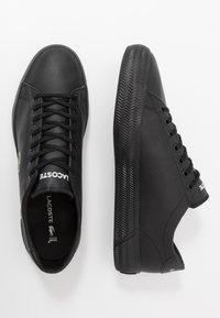 Lacoste - GRIPSHOT - Sneakersy niskie - black - 1