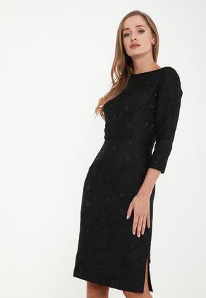 MUARA - Shift dress - schwarz