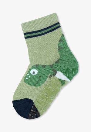 FLIESEN FLITZER ANTIRUTSCH SOCKEN DINO - Socks - mintgrün