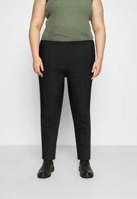 Evans - PULL ON TREGGING - Kalhoty - black - 0