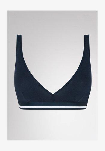 BH OHNE BÜGEL SERIE COTTON PURE - Triangle bra - night blue