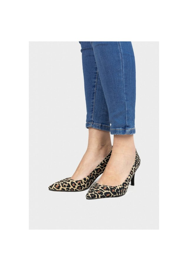 Escarpins - leopardo