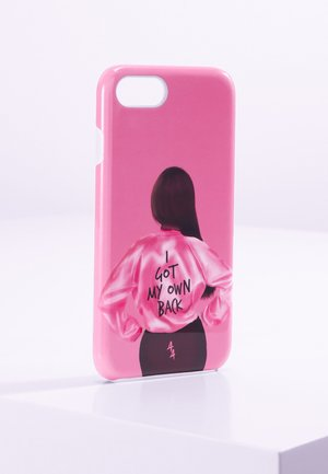iPhone 6/7/8 - Phone case - pink/black