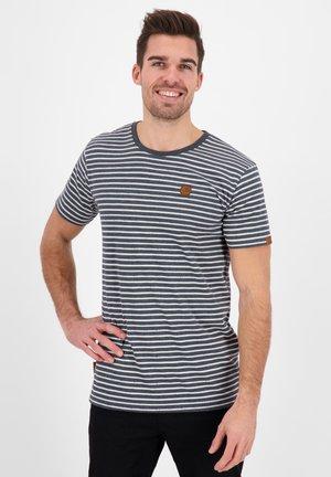 NICAK - Print T-shirt - marine