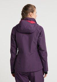 PYUA - ELATION - Outdoor jacket - shadow purple - 2