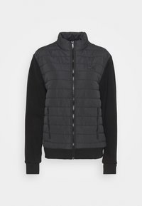 Calvin Klein Golf - HYBRID JACKET - Softshellová bunda - black - 4