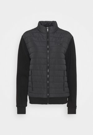 HYBRID JACKET - Softshelljacka - black