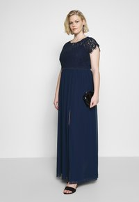 Little Mistress Curvy - MAXI - Occasion wear - navy - 1