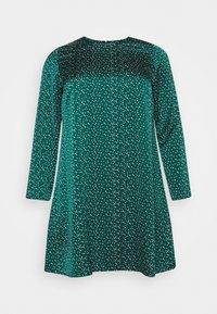 Glamorous Curve - DRESS - Day dress - dark green - 0