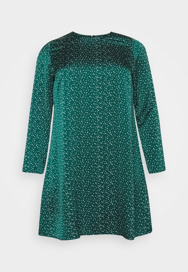 DRESS - Day dress - dark green