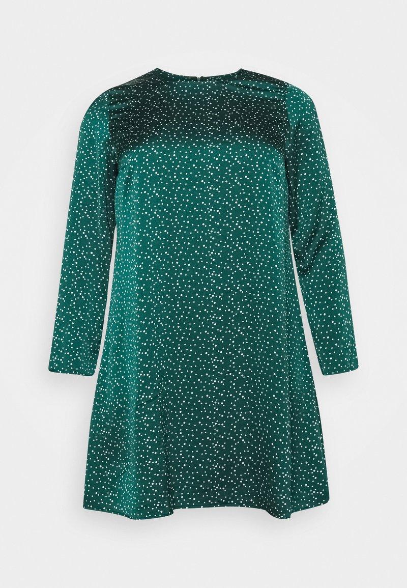 Glamorous Curve - DRESS - Day dress - dark green