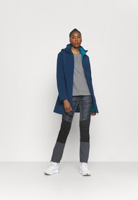 Campagnolo - WOMAN PANT - Outdoorové kalhoty - titanio - 1