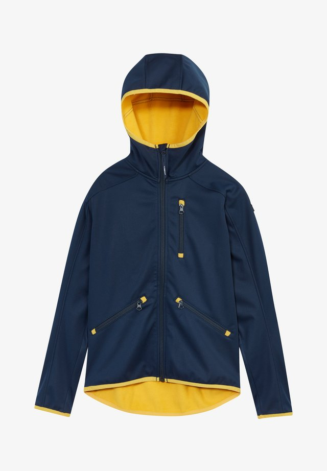 Soft shell jacket - ink blue
