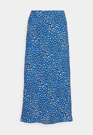 LEO MIDI SLIP SKIRT - Gonna a campana - blue