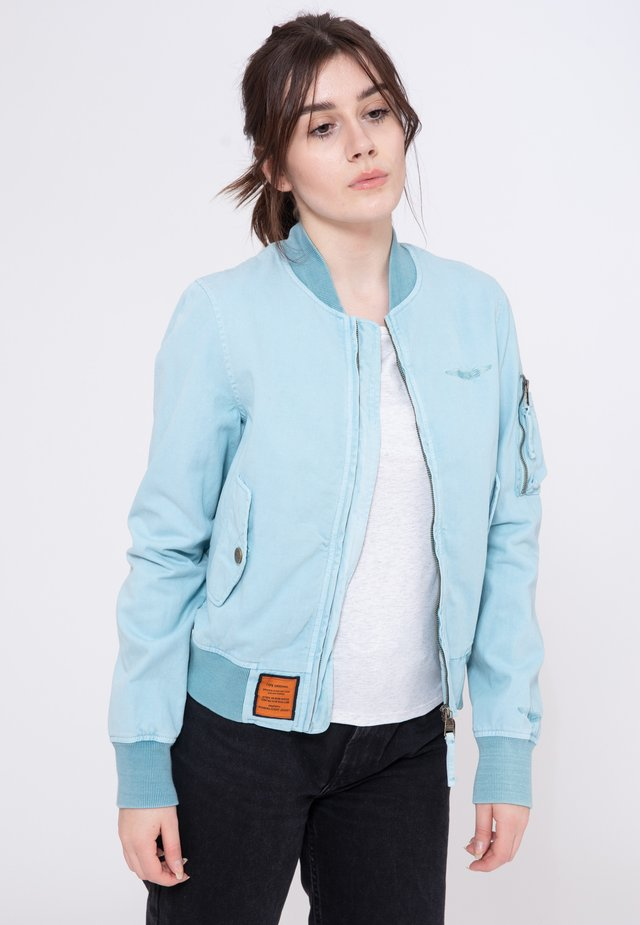 MA-C - Bomber Jacket - blue
