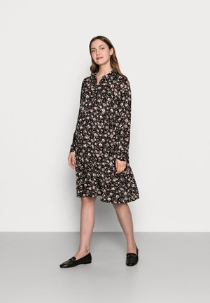 MLSEVDA DRESS - Jersey dress - black/flower