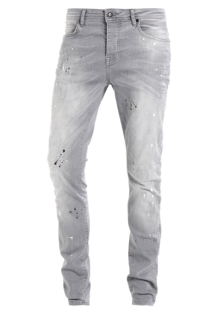 Cars Jeans Cavin - Slim Fit Grey Used/grå Denim