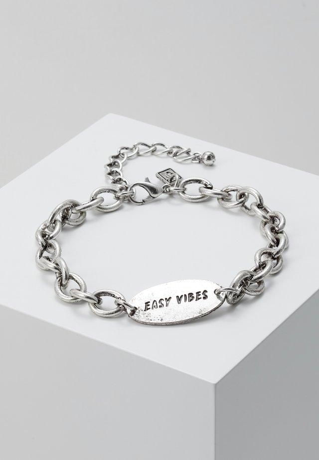 IDENTITY UNKNOWN BRACELET - Bracelet - silver-coloured