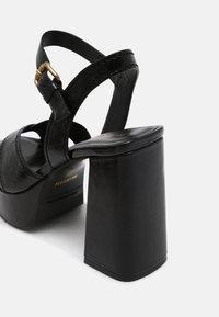 Minelli - Platform sandals - noir - 5