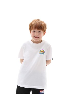 BY VANS X SPONGEBOB IMAGINAAATION SS K - T-shirt con stampa - white