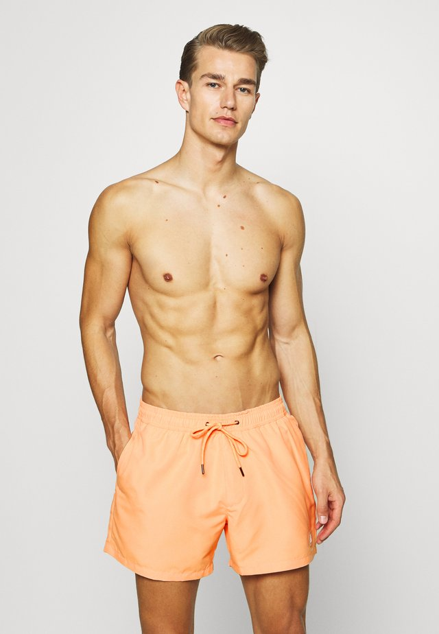 HESTER SWIM - Swimming shorts - orange