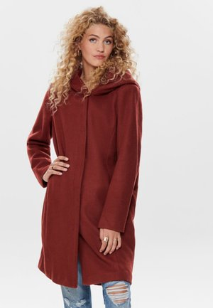 ONLSEDONA - Classic coat - bordeaux