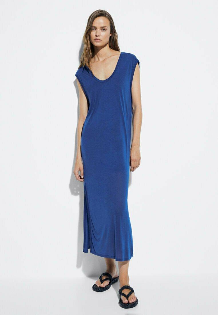 Damen FLIESSENDES - Jerseykleid