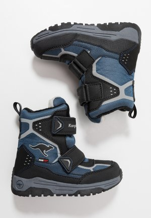 TROOPER RTX - Snowboots  - dark navy/vapor grey