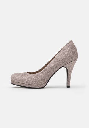 COURT SHOE - Højhælede pumps - space glam