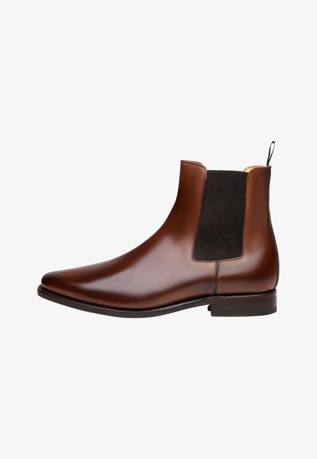 NO. 6627 - BOOTS - Korte laarzen - braun