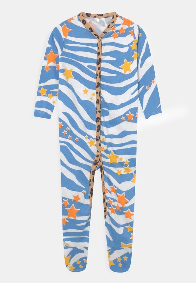 AQUA ZEBRA PRINT ONSIE UNISEX - Sleep suit - multi-coloured