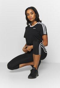 adidas Performance - T-shirts med print - black - 1