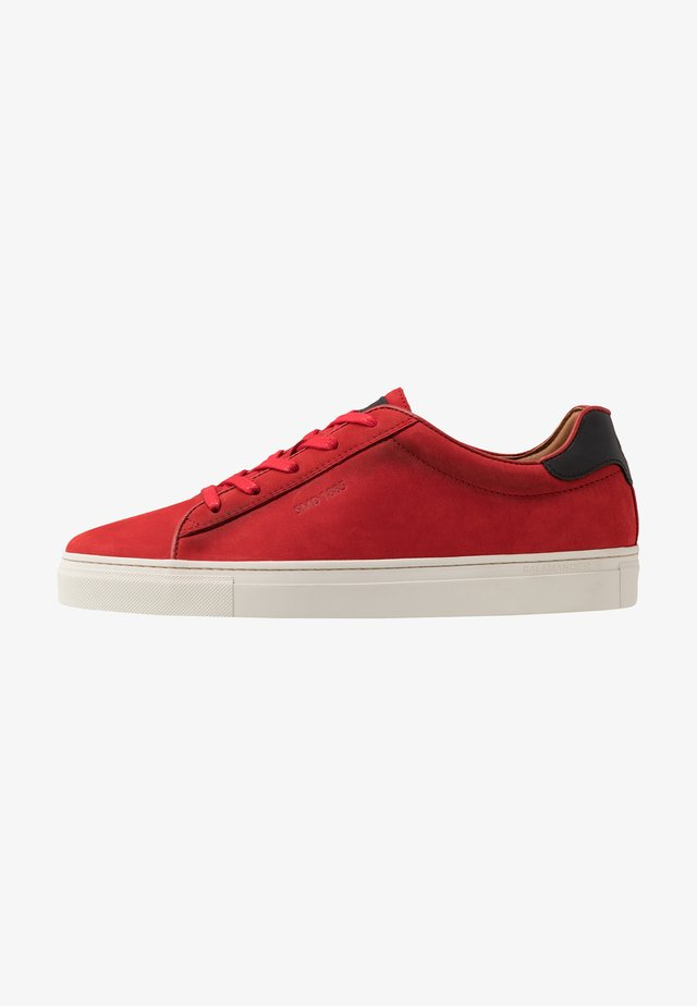 GINOTTO - Sneakersy niskie - red/black