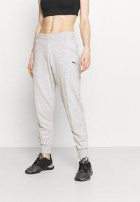 Puma - Pantalones deportivos - light gray heather - 0