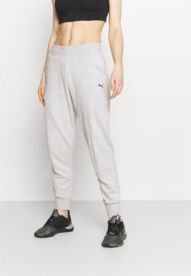 Puma - Pantalones deportivos - light gray heather