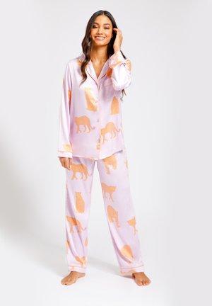 Pyjama set - pink orange