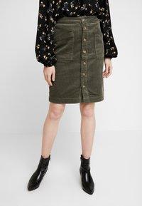 JDY - A-snit nederdel/ A-formede nederdele - grape leaf - 0