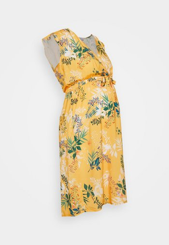 AZILYS - Denní šaty - yellow