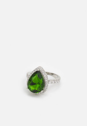 IGREJAS - Ring - emerald/clear on